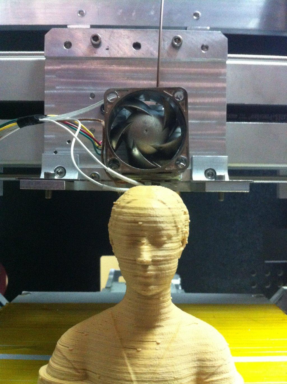 Impresión realizada con nuestra impresora 3D