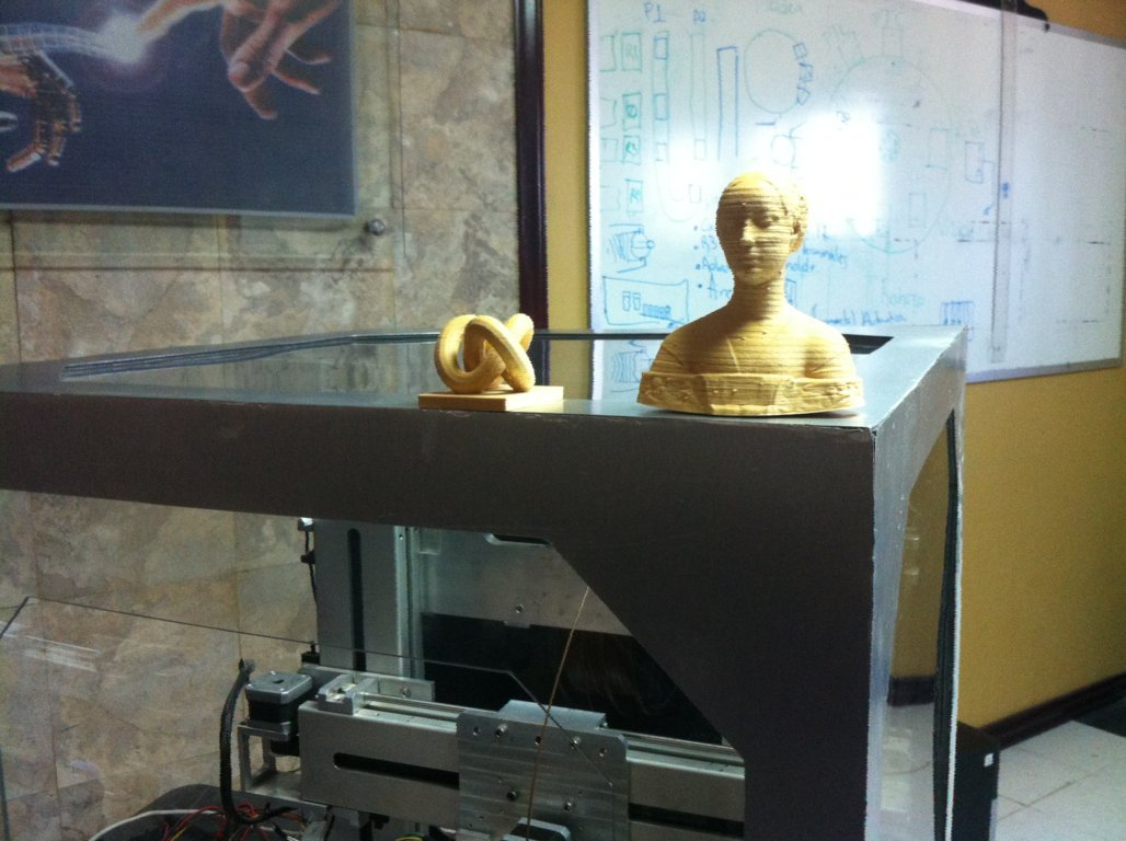 Algunas impresiones 3D